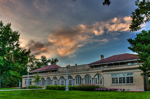 Ammons Hall at Sunset, Colorado State University
