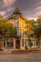 Old Town at Sunrise, Fort Collins, Colorado